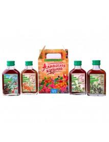 Подарочный набор, ягодные сиропы «Алтайская корзинка» №2