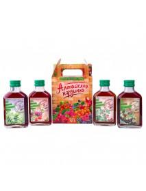 Подарочный набор, ягодные сиропы «Алтайская корзинка» №3