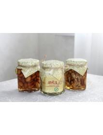 Мёд с орехом ассорти 320 гр