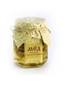 Мёд с грецким орехом 300 гр.